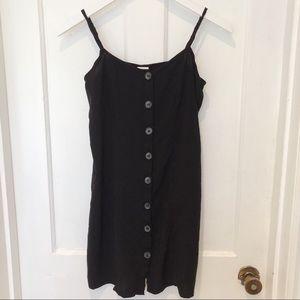 H&M Basic Black Spaghetti Strap Dress